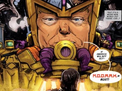 Marvel Turns Donald Trump into Comic Book Villain