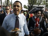 Obama sombrero (Rick Bowmer / Associated Press)