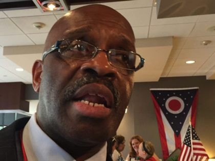 Ohio delegate RNC (Joel Pollak / Breitbart News)