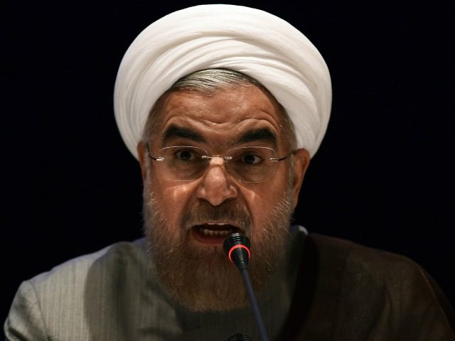 Iran's Rouhani hints at threat to neighbors' exports if oil sales halted