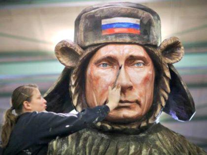 Putin Russian Bear AP