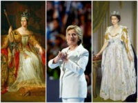 Hillary's White Pantsuit: the Color Monarchs Wear to Coronations