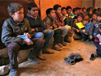 Refugee boys from Iraq, Syria Bilal HusseinAP