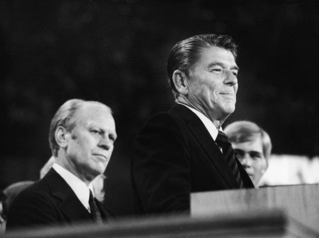 Ronald Reagan 1976 Convention (Hulton Archive / Getty)