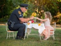 Rowlett Police Officer - Tea Time
