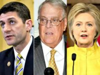 Koch Brothers Will Not Oppose Globalist Clinton; Ryan Headlines Event