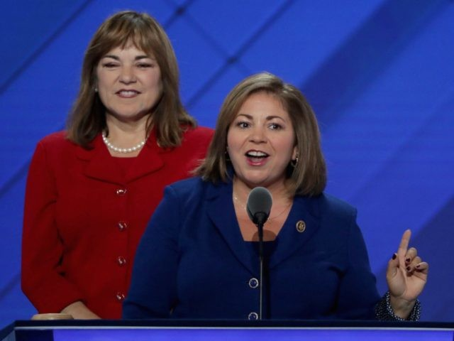 Sanchez sisters at Democratic Convention (Alex Wong / Getty)