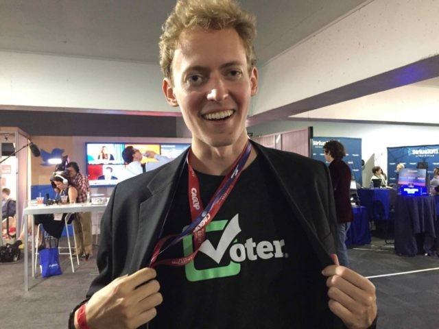 Scarborough Voter (Joel Pollak / Breitbart News)