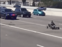 WATCH: High-Speed Go-Kart Chase on Oakland Freeway