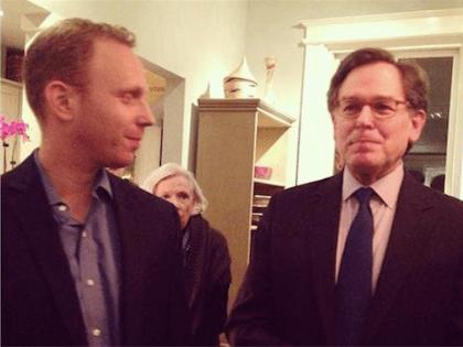 Max Blumenthal and Sidney Blumenthal (@gregmccarron1 / Twitter)