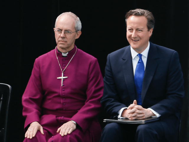 Archbishop of Canterbury Justin Welby and Prime Minister David Cameron