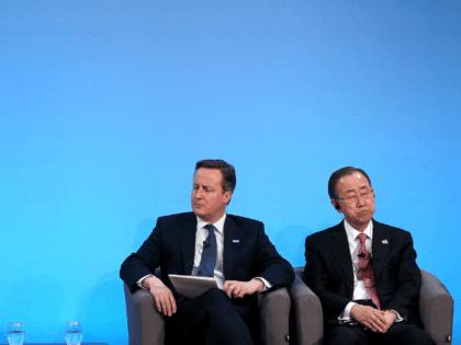 David Cameron and UN Secretary-General Ban Ki-moon