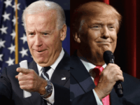 Biden/Trump (Breitbart / Wire agencies)