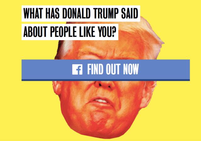 Trump yourself (Screenshot)