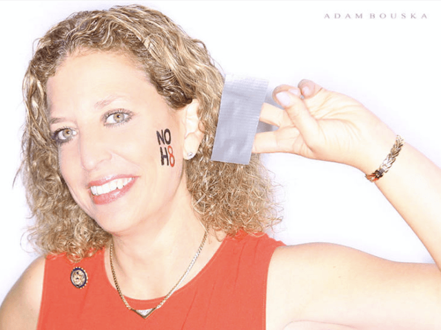 Debbie Wasserman Schultz No H8 (Adam Bouska / No H8)