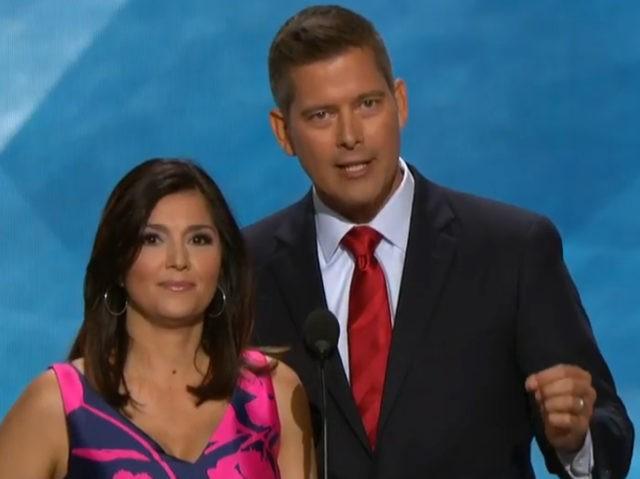 Sean Duffy and Rachel Campos-Duffy (Screenshot)