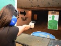 Gay TLC Class at Shiloh Shooting Range in Houston Texas. (Photo: Bob Price/Breitbart Texas)