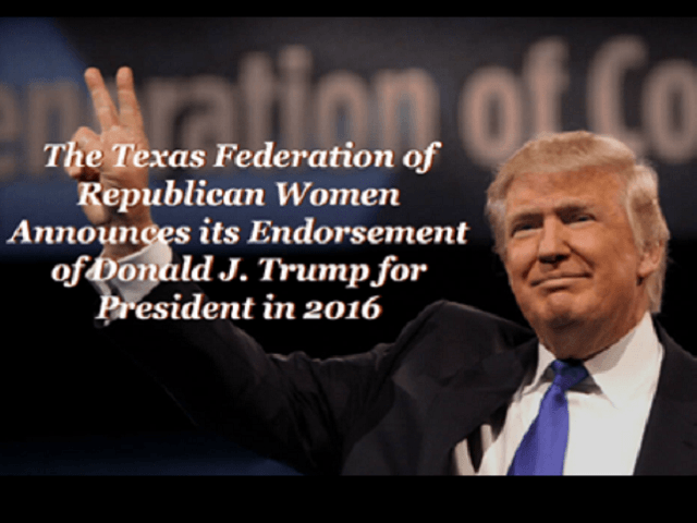 Texas Republican Women Endorse Trump
