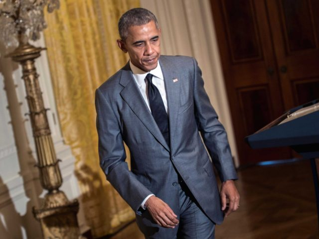 Thin Obama (Brendan Smialowski / AFP / Getty)