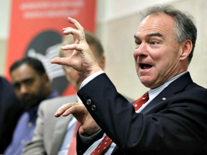 Trump Trolls Tim Kaine in Virginia to 6,500 Supporters: 'She Made the Wrong Pick!'