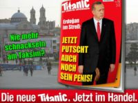 German Mag Mocks Erdogan With Fake Penis Cover