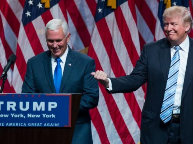 Trump Pence AP