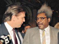 Trump and Don King AP