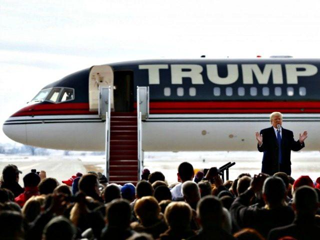 Trump and Jet Paul Sancya AP