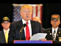 Trump with Vets Richard DrewAP