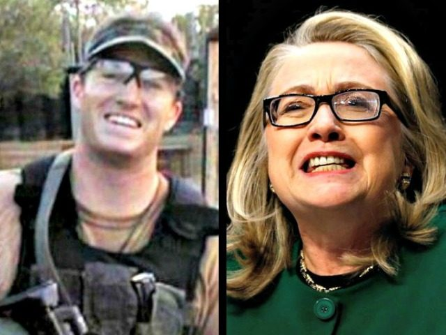 Ty Woods and Hillary Clinton
