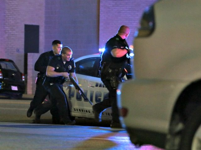White Dallas Cops AP