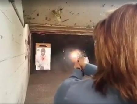 Woman Shooting at Range (1)