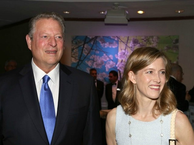 NEW YORK, NY - JUNE 05: Al Gore and Karenna Gore Schiff attend the 12th Annual James Parks Morton Interfaith awards dinner at Hilton Hotel Midtown on June 5, 2014 in New York City. (Photo by Walter McBride/Getty Images)