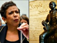 ap_loretta-lynch and James Madison bust, Declaration