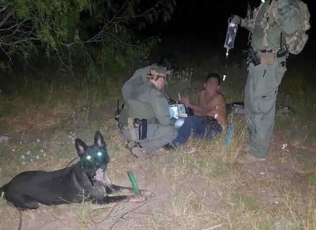 border patrol rescue