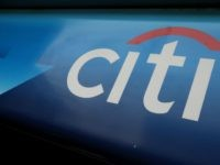 The Citibank logo is displayed on an ATM outside of a bank branch July 18, 2008 in San Francisco, California.