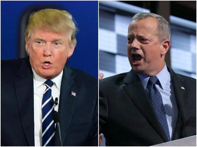 Donald Trump and John Allen