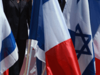 france israel flags