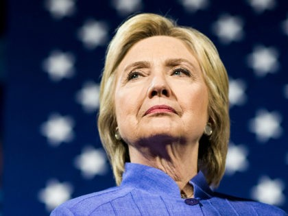 CINCINNATI, OH - Democratic Presumptive Nominee for President former Secretary of State Hillary Clinton, along with Senator Sherrod Brown (D-OH), speak to campaign volunteers at a 'get out the vote' event at University of Cincinnati in Cincinnati, Ohio on Monday, July 18, 2016. (Photo by Melina Mara/The Washington Post via …