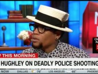 "Wednesday on CNN's ""New Day,"" actor and comedian D.L. Hughley …"