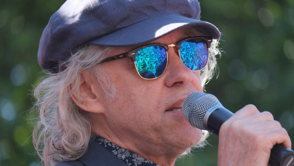 Bob Geldof safely away from poor fishermen this time