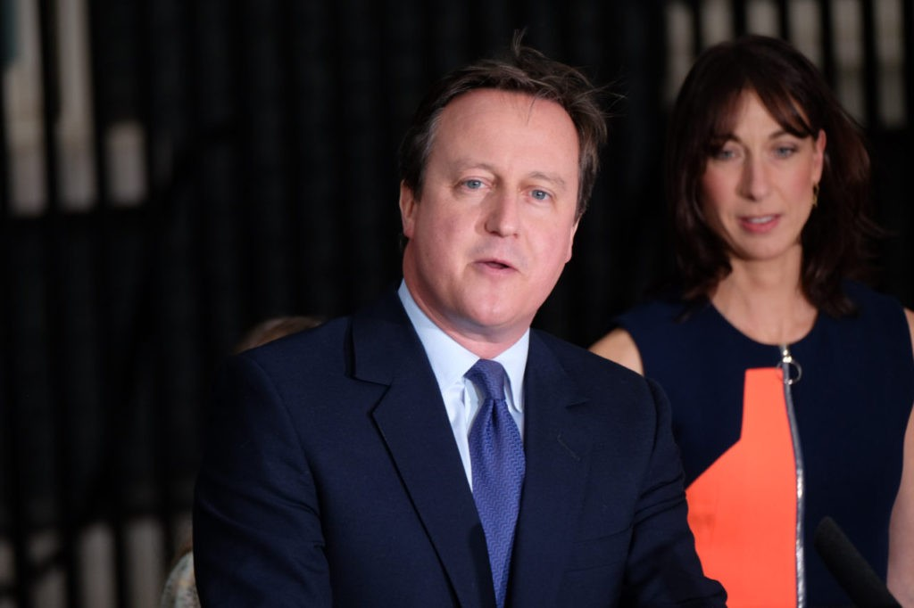 Cameron leaves as PM