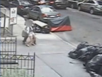 WATCH: Man Shoves Feces Down a Woman's Pants, Runs Away