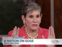 "Sunday, on NBC's ""Meet the Press,"" political consultant Mary Matalin …"