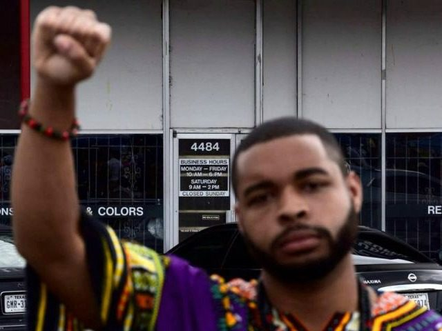 Micah Xavier Johnson, a man suspected by Dallas Police in a shooting attack and who was killed during a manhunt, is seen in an undated photo from his Facebook account. Micah X. Johnson via Facebook via