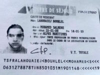 TOPSHOT - This image obtained by AFP on July 15, 2016 from a French police source shows a reproduction of the residence permit of Mohamed Lahouaiej-Bouhlel, the man who rammed his truck into a crowd celebrating Bastille Day in Nice on July 14. The attacker, Mohamed Lahouaiej-Bouhlel, a 31-year-old dual national, zigzagged through a crowd gathered to watch a Bastille Day fireworks display in the French city on Thursday night. / AFP PHOTO / FRENCH POLICE SOURCE / -