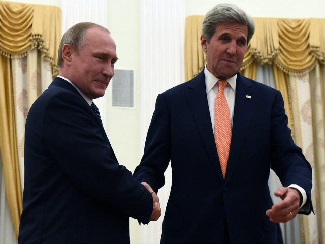 Kerry Announces Secret Agreement With Russia To Cooperate In Syria