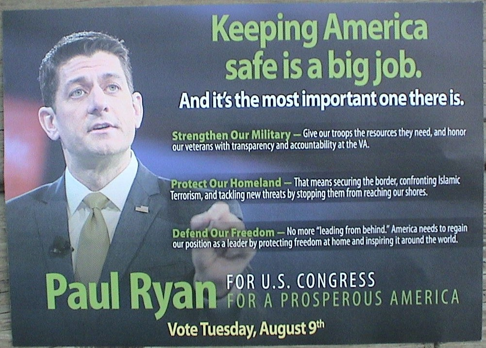 ryan anti-amnesty mailer