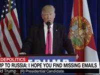 Trump: 'Russia, If You're Listening, I Hope You're Able to Find the 30,000 E-Mails that Are Missing'