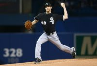 Chris Sale of the Chicago White Sox has been excellent on the field this season, building a 14-3 record with a 3.18 earned run average